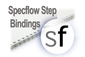 Specflow Step bindings