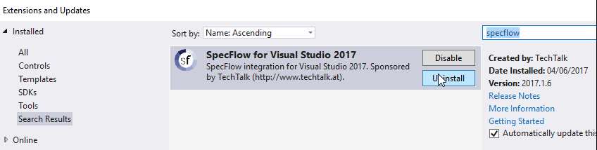 Specflow tutorial C# - Project Setup | Test Automation Tribe